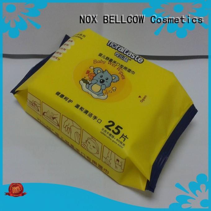 NOX BELLCOW moisturizing newborn baby wipes manufacturer for ladies