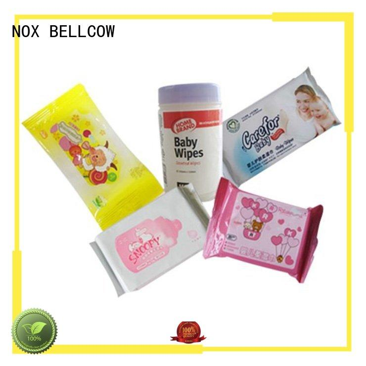 wipes free NOX BELLCOW Brand biodegradable baby wipes factory