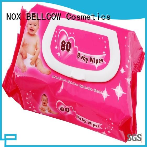 tender natural baby wipes 25pcs factory for body