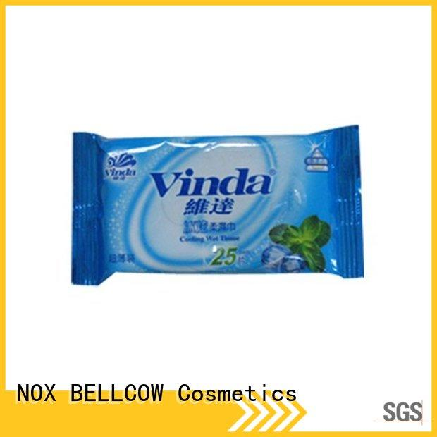 NOX BELLCOW cooling men's facial cleansing wipes manufacturer for man