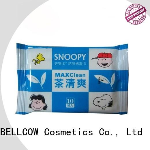 NOX BELLCOW snoopy best facial cleansing wipes factory for women