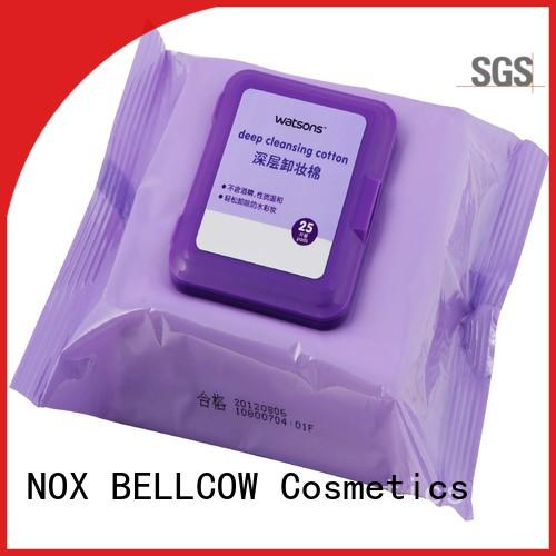 tencel fiber natural makeup remover wipes deep factory for skincare