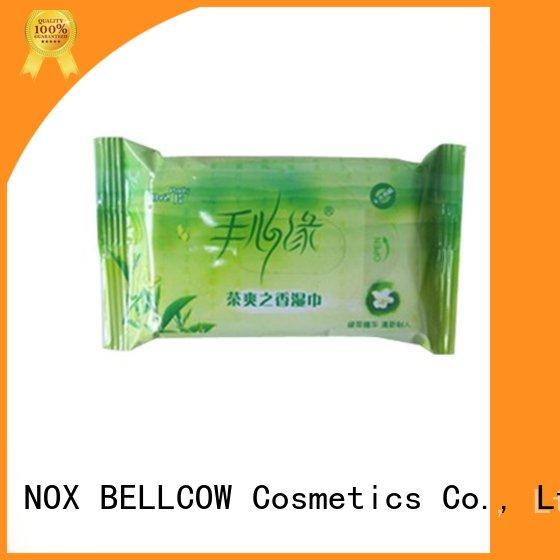 NOX BELLCOW cooling facial cleansing wipes wholesale for women