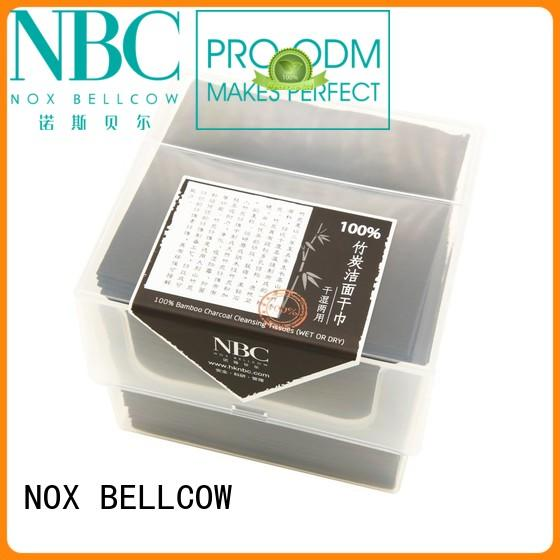 NOX BELLCOW Brand pure cleaning antibacterial wipes fiber supplier