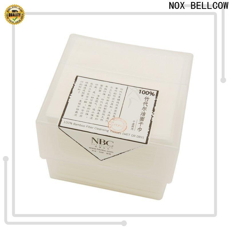NOX BELLCOW natural cotton wet tissue paper manufacturer for home