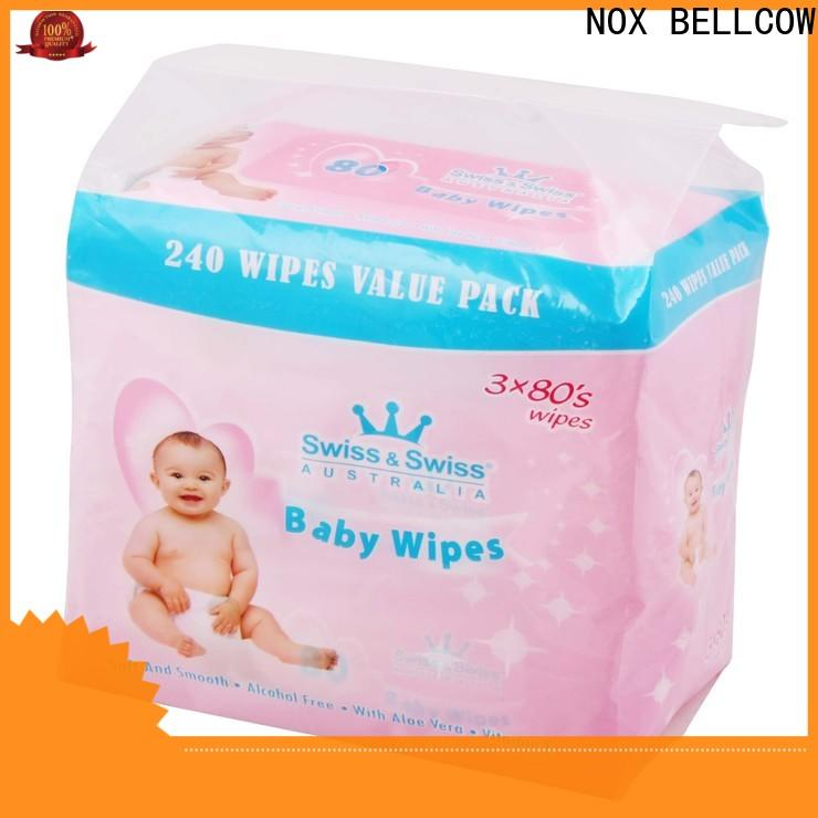 NOX BELLCOW hand antibacterial baby wipes wholesale for infant