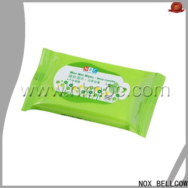 NOX BELLCOW clean best facial cleansing wipes supplier for hand