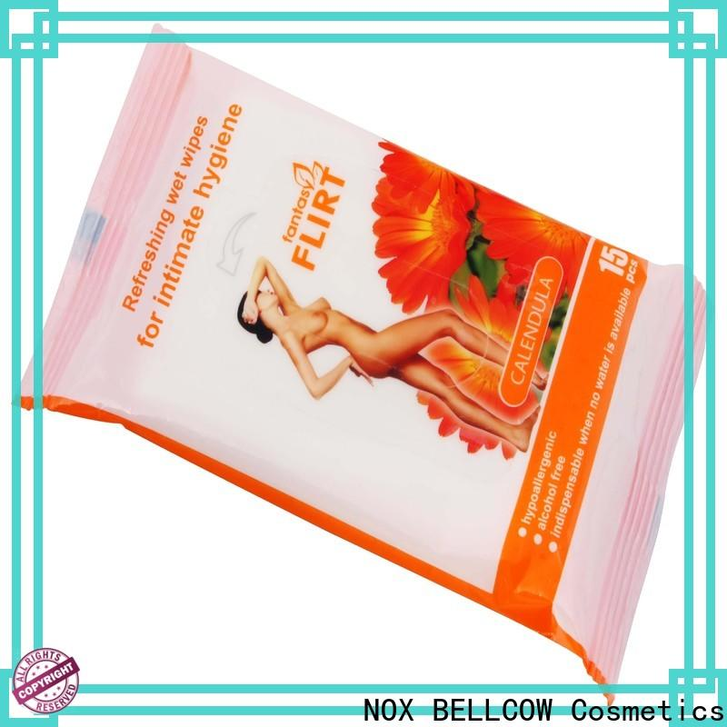 NOX BELLCOW oil control best cleansing wipes wholesale for skincare