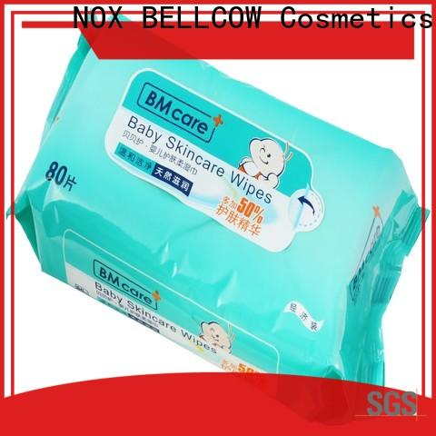NOX BELLCOW pure natural baby wipes supplier for hand