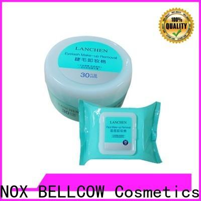 tencel fiber natural makeup remover wipes make wholesale for neck