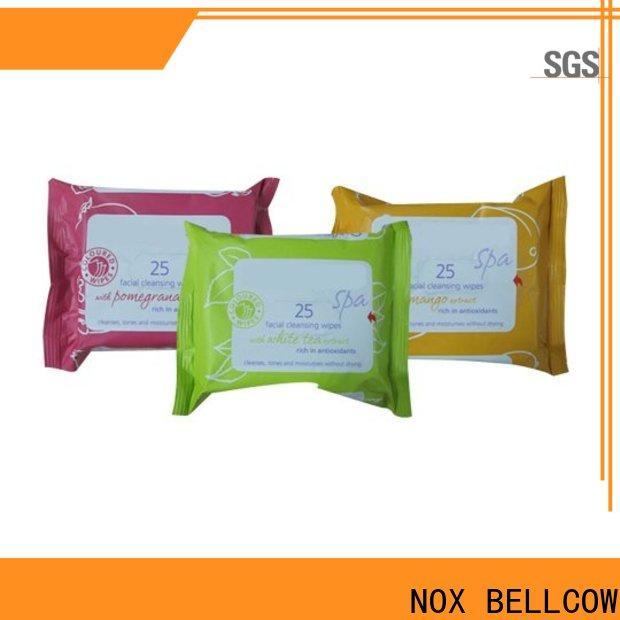 NOX BELLCOW scented facial cleansing wipes factory for women