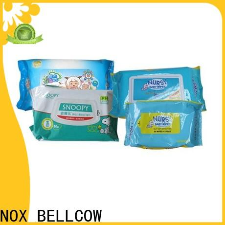 NOX BELLCOW pure best natural baby wipes factory for skincare