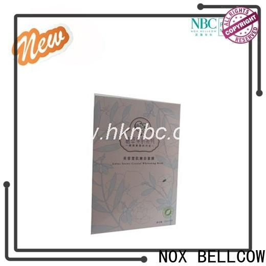 NOX BELLCOW moisturizing hydrating facial masque series for home