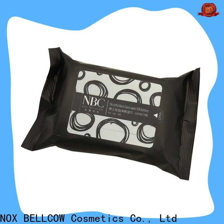 NOX BELLCOW oil control best facial cleansing wipes supplier for women