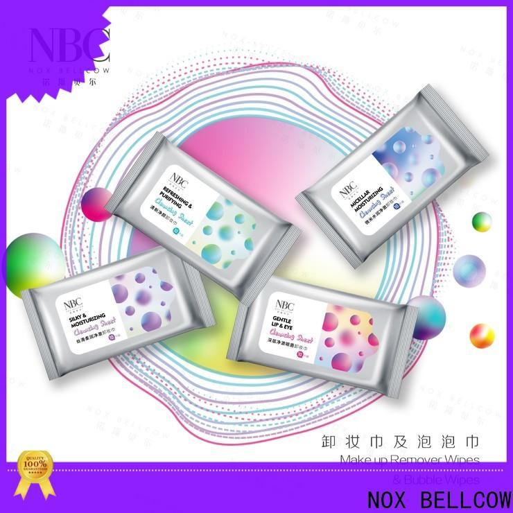 NOX BELLCOW Make-up remover wipes Supply for women