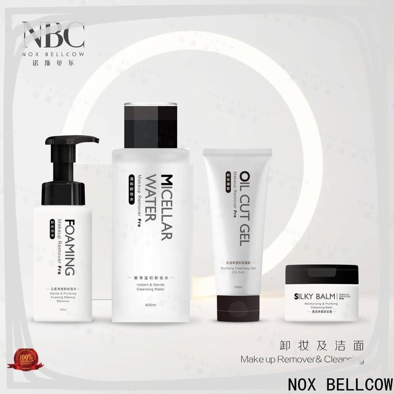 Custom natural makeup remover manufacturers for skincare