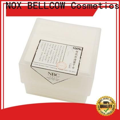 NOX BELLCOW cotton dry wet tissue supplier for outdoor