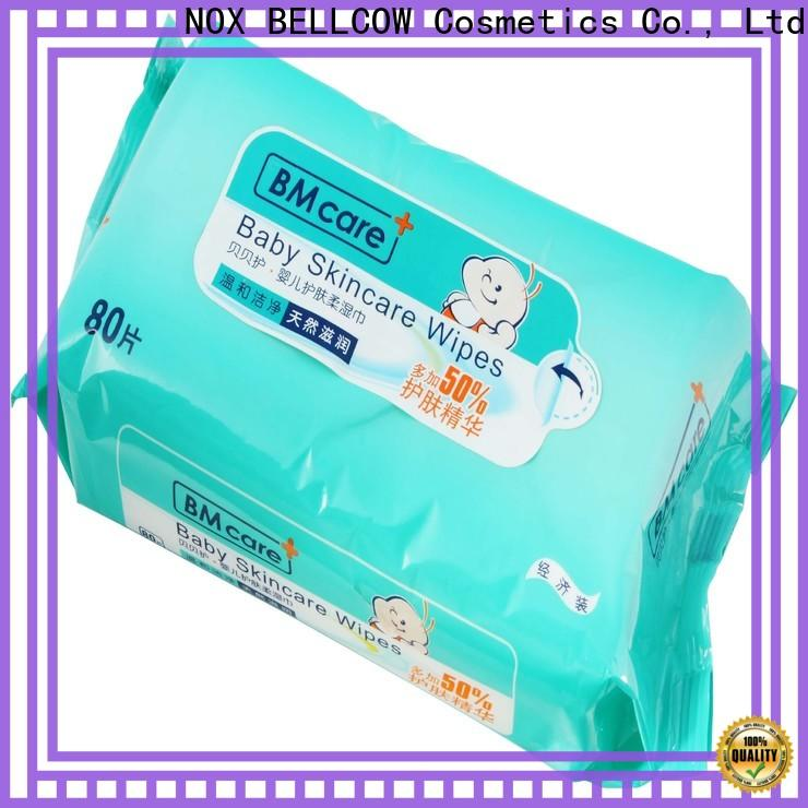 NOX BELLCOW pure best natural baby wipes manufacturer for body