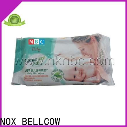 NOX BELLCOW 20pcs baby wet wipes supplier