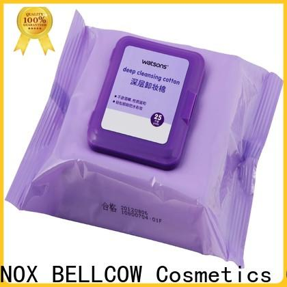 NOX BELLCOW veoceltm makeup remover wipes for sensitive skin supplier for ladies