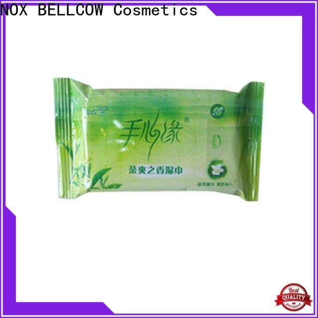 NOX BELLCOW wet facial cleansing wipes manufacturer for adult