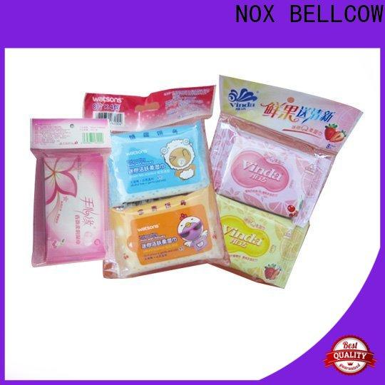 NOX BELLCOW oil control oil cleansing wipes manufacturer for man