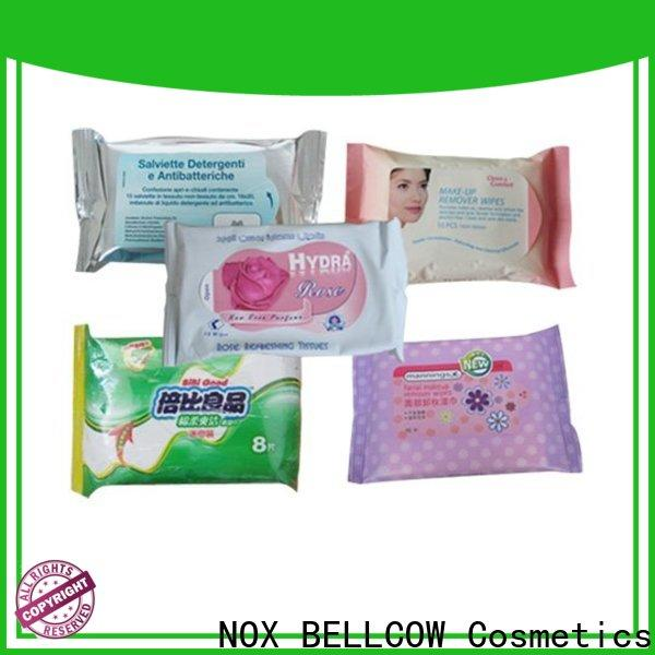 NOX BELLCOW tea best facial cleansing wipes supplier for face
