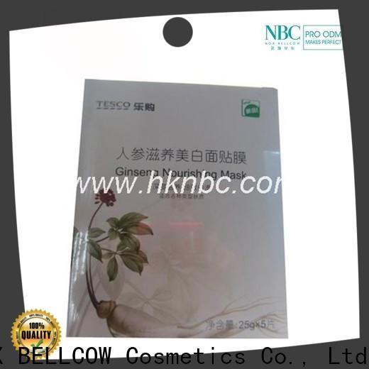 NOX BELLCOW graphene facial mask oem series for beauty salon