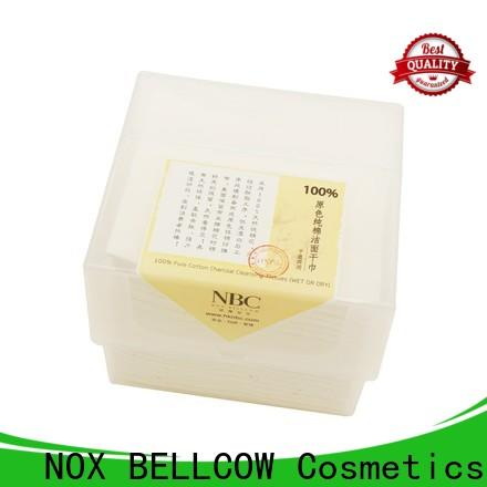 NOX BELLCOW natural cotton wet dry wipes supplier for home