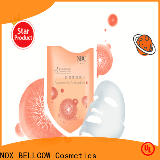 NOX BELLCOW premium natural face masks wholesale for home