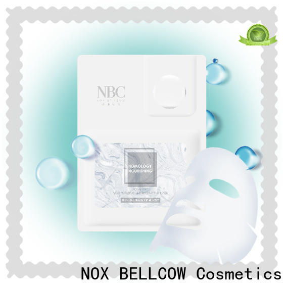 NOX BELLCOW charcoal facial sheet mask manufacturer factory for man
