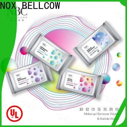 NOX BELLCOW New best makeup remover wipes factory for skincare