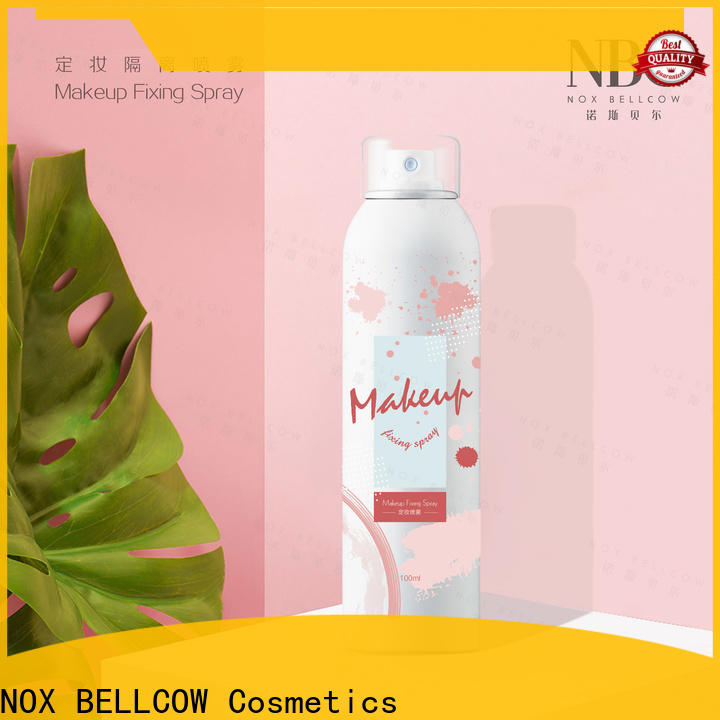 NOX BELLCOW Custom best makeup setting spray factory for women