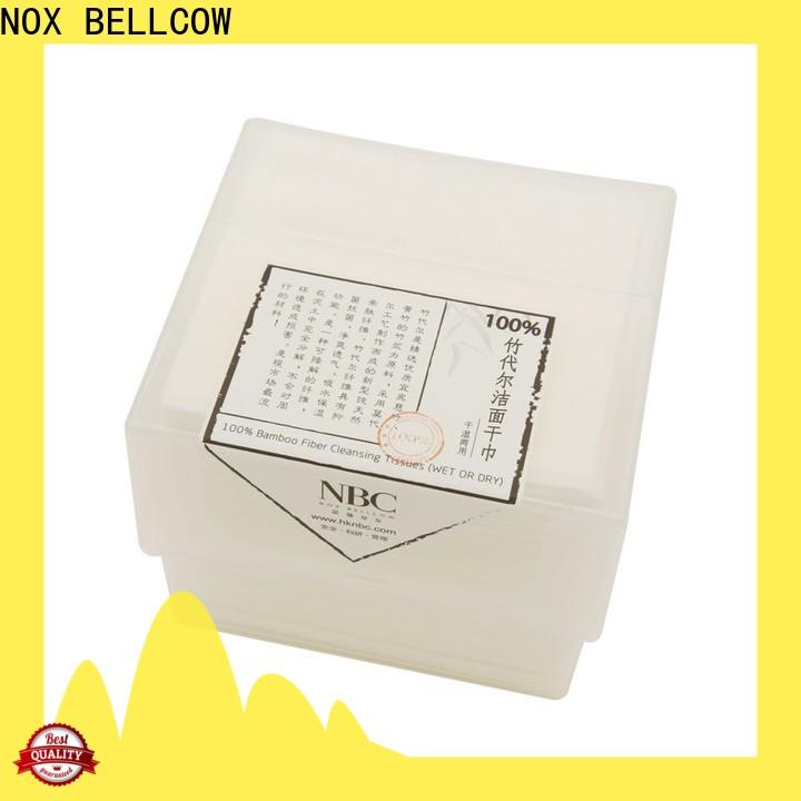 NOX BELLCOW cleansing wet and dry wipes factory for living room