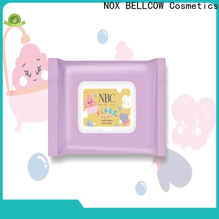 NOX BELLCOW professional wet tissue supplier for ladies
