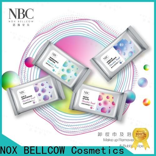 NOX BELLCOW Make-up remover wipes for business for skincare
