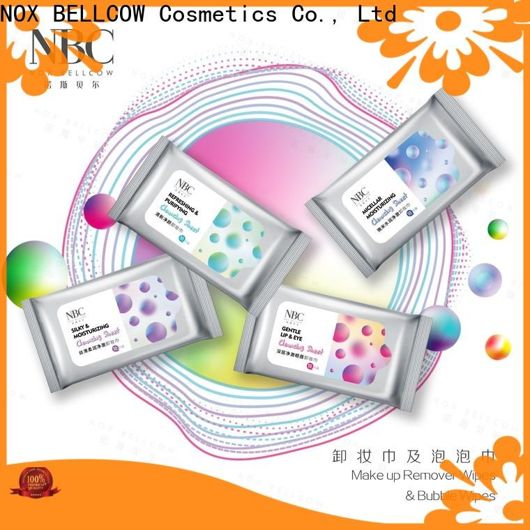 NOX BELLCOW best makeup remover wipes manufacturers for women