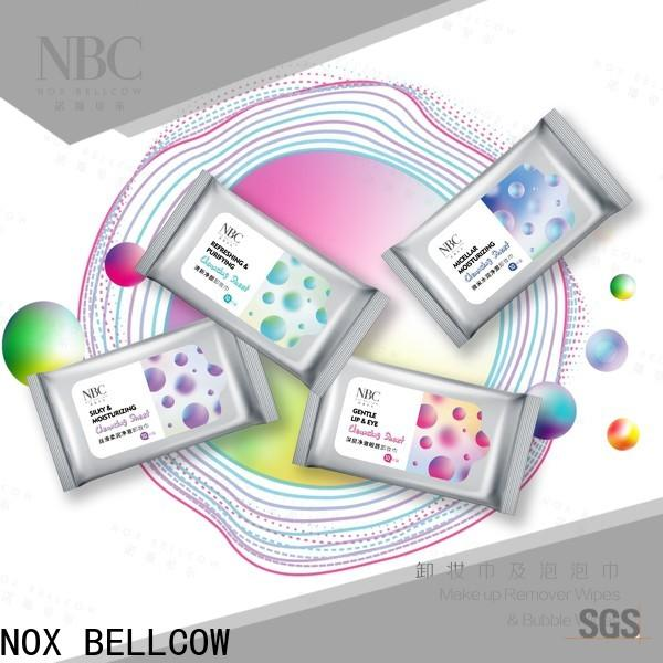 NOX BELLCOW Make-up remover wipes company for women