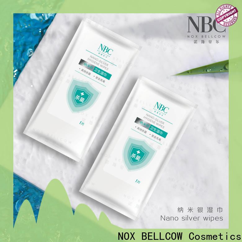 NOX BELLCOW Nano silver wipes Supply for skincare