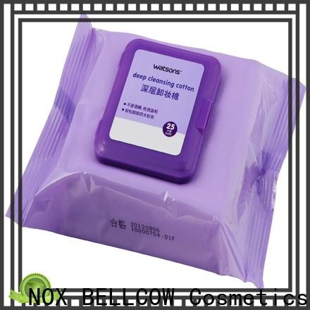 NOX BELLCOW make best makeup remover wipes wholesale for face