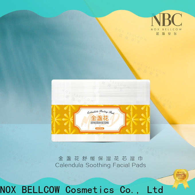 NOX BELLCOW Skin care wipes factory for ladies