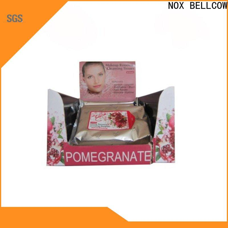 NOX BELLCOW ​makeup best makeup remover wipes manufacturer for neck