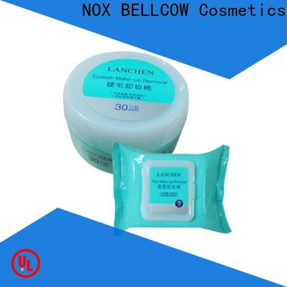 NOX BELLCOW pads best makeup remover wipes manufacturer for ladies