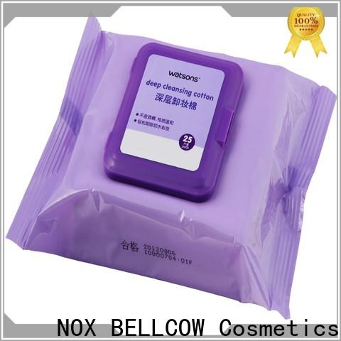 NOX BELLCOW eye best makeup wipes for sensitive skin wholesale for skincare