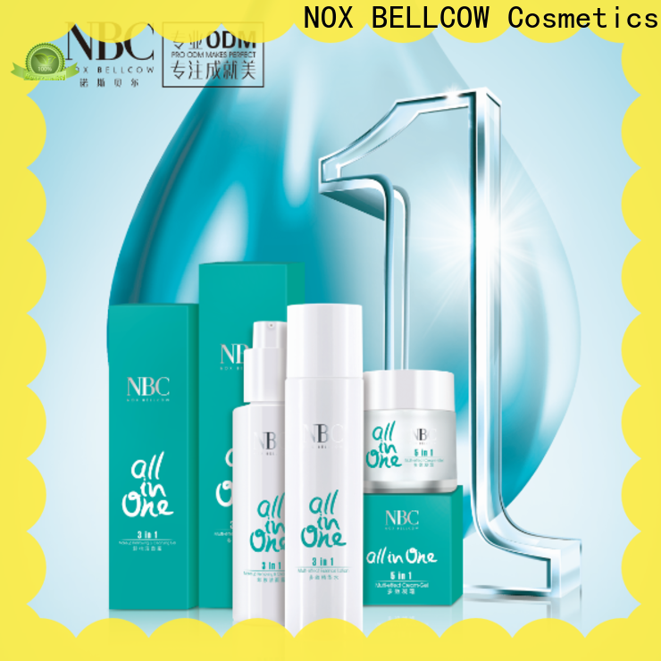 NOX BELLCOW moisturizing custom skin care manufacturers protector for beauty salon