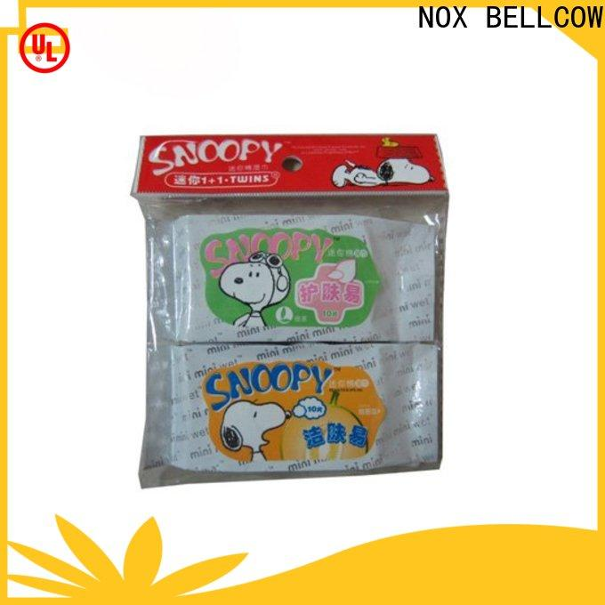 wet cleansing wipes car manufacturer for women