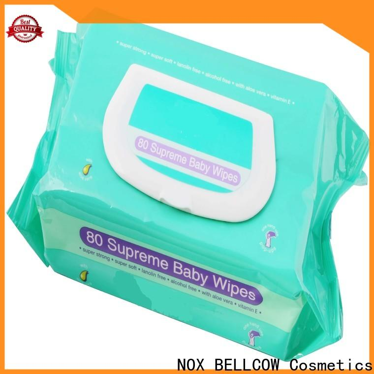 NOX BELLCOW cotton baby tissue supplier for hand