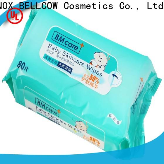 NOX BELLCOW vitamin E best natural baby wipes supplier for body