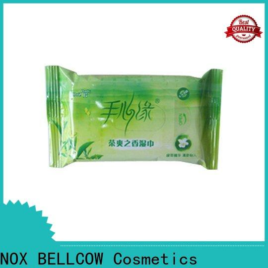 NOX BELLCOW oil control best facial cleansing wipes factory for skincare