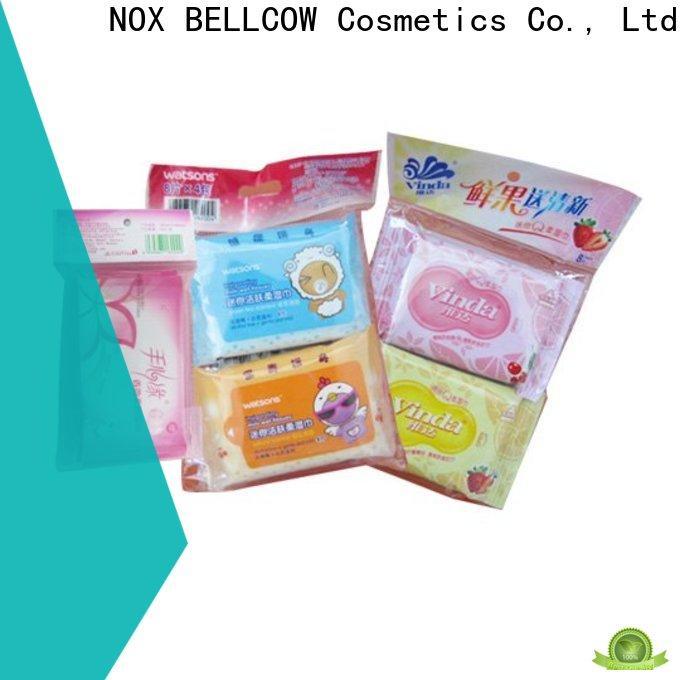 NOX BELLCOW lemon best cleansing wipes factory for man